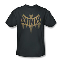 Batman Classic 1966 TV Vintage Logo Mens T-Shirt