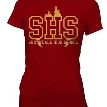 Buffy the Vampire Slayer Sunnydale High School TV Movie Womens Fitted T Shirt