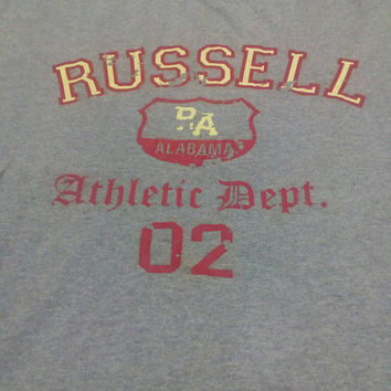 Authentic Alabama Russell Athletic 90s t-shirts vintage