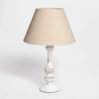Wooden Base Lamp - Lamps | Zara Home United States