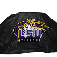"NCAA Louisiana State LSU 68"" Vinyl Gas Grill Cover"