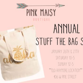 Annual Stuff The Bag Pre-Order Bag Sale!