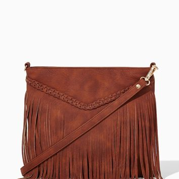 Desert Fringe Crossbody Bag | Fashion Handbags & Purses - Rodeo | charming charlie