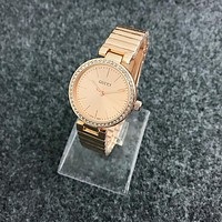 GUCCI fashion men and women classic watch F-Fushida-8899 Rose gold