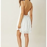 LACE PARK MINI DRESS