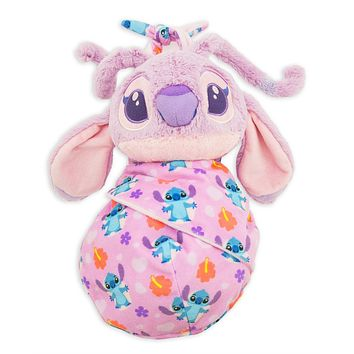 Disney Parks Baby Angel in a Blanket Pouch Plush New with Tags
