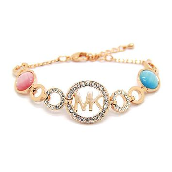 CUPUPGM Great Deal Awesome New Arrival Stylish Shiny Hot Sale Gift Korean Ring Cats Alphabet Accessory Bracelet [10417740308]