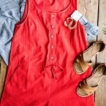 Little Red Romper, Red