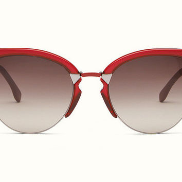 Fendi - Irida 0041/S Cat Eye Crystals Sunglasses