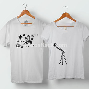 Finding My Star Planet Couple Tshirt size S to 5XL - VEROATTACK