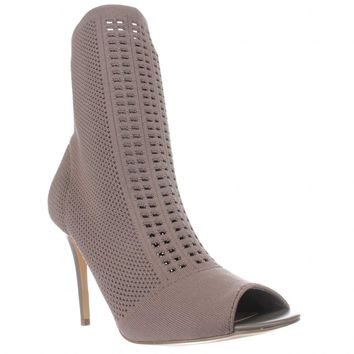 Charles by Charles David Rebellious Stretch Pull On Ankle Boots, Taupe, 8 US