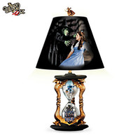 The Wizard Of Oz Wicked Witch Hourglass Of Destiny Lamp
