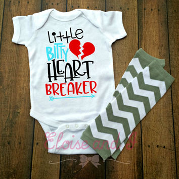valentines baby boy outfit, valentine shirts, valentines day shirt, valentine baby shower gift, heartbreaker, toddler girl outfits, gifts