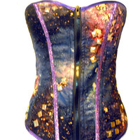 Customizable You Choose Chaotic Cosmic Corset