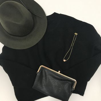Cleo Olive Wool Hat