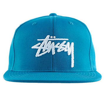 Stussy Stock SP16 Cap in Teal Size EA