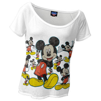 Mickey Mouse - Mickey Galore Juniors T-Shirt