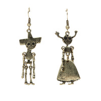 The Book Of Life Skeleton Couple Earrings Pre-Order