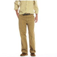 Haggar Men's Life Khaki Relaxed Fit Chino Pant