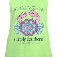 """Simply Southern """"Pinch Me"""" Tank - Limeaide"""
