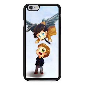 Supernatural Destiel Fanart iPhone 6/6s Case