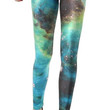 Galaxy Blue Leggings Design 453