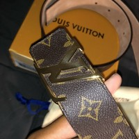 Louis Vuitton Belt Monogram M9608 Size 95/38