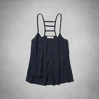 girls sleeveless tops | abercrombiekids.com