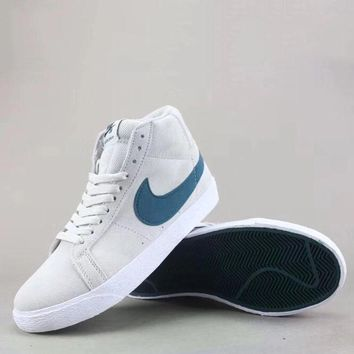 Wmns Nike Sb Blazer Zoom Low Fashion Casual High-Top Old Skool Shoes-3