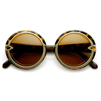 MOD MARILYN ROUND FRAME SUNGLASSES