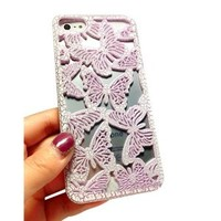Butterfly Cut Out Phone Shell Case for Iphone4/4s
