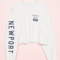 Nancy Newport Beach 1984 Sweatshirt - Prints - Graphics