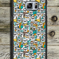 Pug Pattern Samsung Galaxy S6 Edge Plus Case
