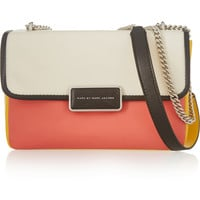 Marc by Marc Jacobs - Rebel color-block leather shoulder bag