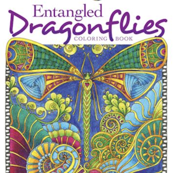 Dragonflies Tea Party Activity Coloring  Book