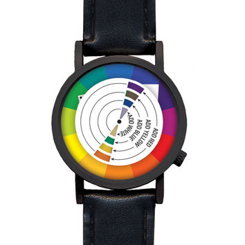 So into this design on Fab! Color Wheel Watch #FabForAll