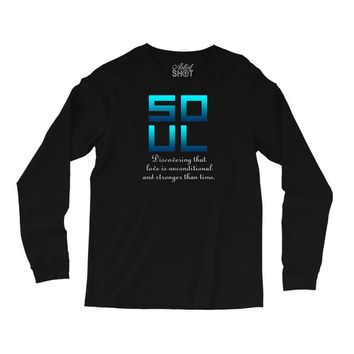 Soul (Soul + Mate Couples Design) Long Sleeve Shirts