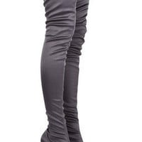 Stella McCartney Satin thigh boots - 60% Off Now at THE OUTNET