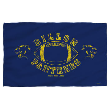 FRIDAY NIGHT LIGHTS/DILLON PANTHERS - TOWEL - WHITE - BEACH 36x58