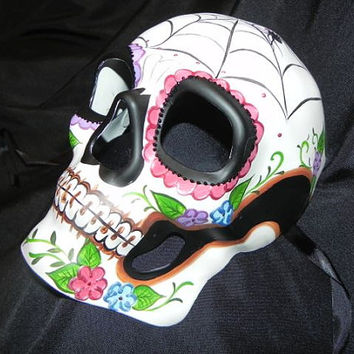 Day of the Dead Halloween Mask - Unisex Mask