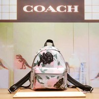 COACH WOMEN'S 2018 NEW STYLE LEATHER MINI BACKPACK BAG