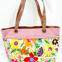 Vintage Retro Flower Purse