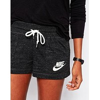 NIKE Like Fashion Print Exercise Fitness Gym Yoga Running Shorts