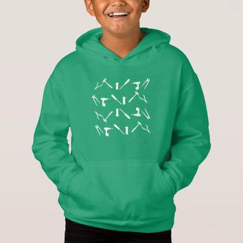 Mechanic Workshop Tools Pattern Hoodie