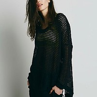 Free People Womens The Space In Between Pullover