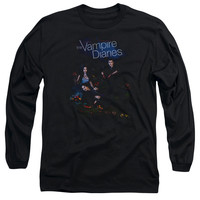 VAMPIRE DIARIES/TEMPTED-L/S ADULT 18/1-BLACK