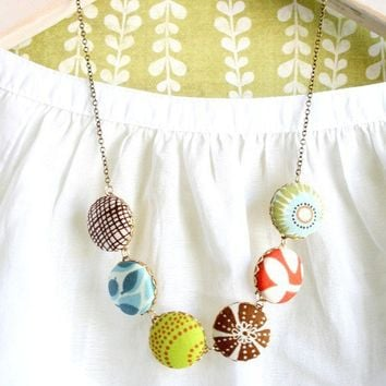 The Modern Necklace No5 by NestPrettyThingsShop on Etsy