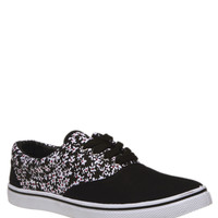 Printed Lace-Up Sneakers | Wet Seal