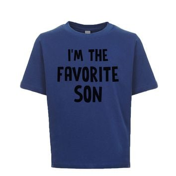 I'm The Favorite Son Unisex Kid's Tee