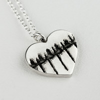 Personalized Heartbeat Ultrasound Custom Necklace